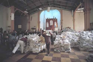 毀損的教堂