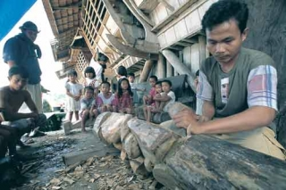 傳統木雕藝品
