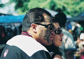 刺青的毛利人