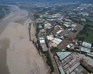 大漢溪工業汙水