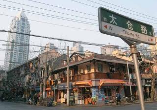 新舊交織的上海