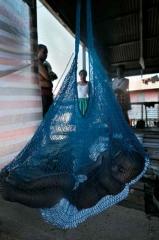 手工編織網袋