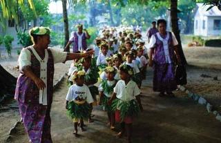 吐瓦魯傳統服飾