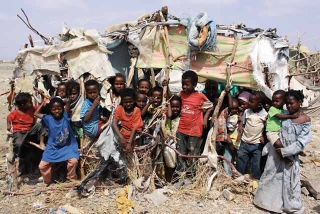 難民營孩童