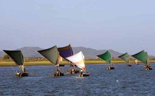 緬甸傳統帆船