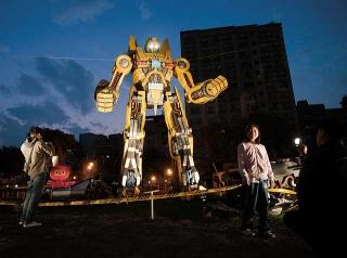 機器人造型裝置藝術