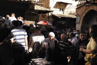 耶路撒冷舊城內市集