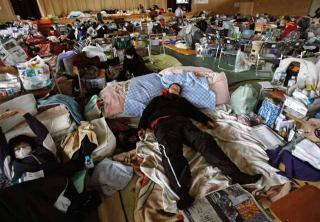 避難所收物資短缺