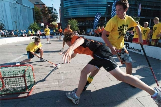 市區舉辦曲棍球比賽