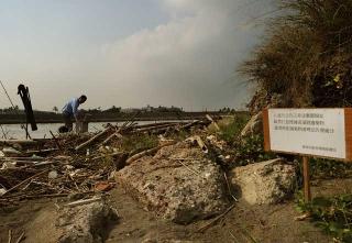二仁溪沿岸廢棄物