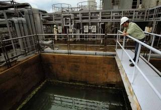 光電廢水排放