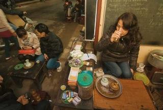 越南北方喜歡喝茶