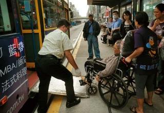 低底盤公車