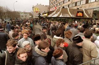 麥當勞在莫斯科開幕