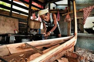 製作拼板舟