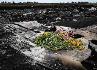 馬來西亞航空班機遭擊落墜毀