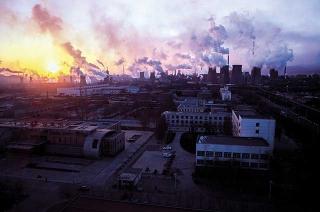 內蒙自治區包頭市的鋼鐵工業