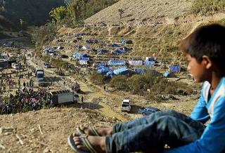 俯視難民營
