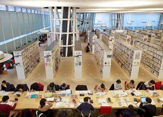 仙台市圖書館總館