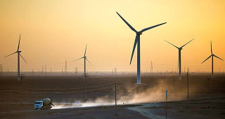 甘肅蘭州風力發電廠