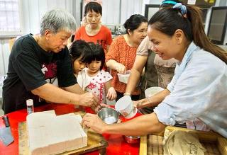 鹽滷豆腐製作
