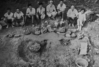 古犀牛化石