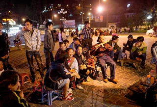 越南沙巴晚間