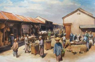 笨港曾是清代台灣西海岸的第二大河港