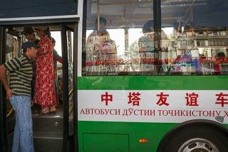 中國捐贈的公車