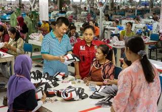 印尼低廉又充沛的勞力