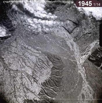 濁水溪出山口 1945.1.14