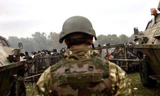 斯國陸軍維持邊境的秩序