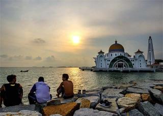 麻六甲海峽清真寺