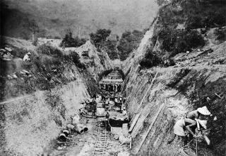 烏山嶺隧道暗渠