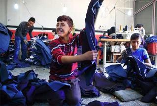 敘利亞難民孩童