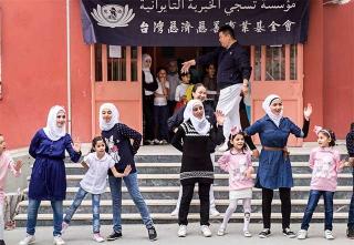 滿納海小學校區提供給敘利亞難民小孩上課