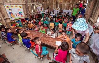 至善基金會著重幼兒照顧與貧童助學