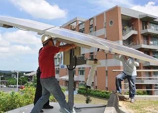 太陽能電板裝配