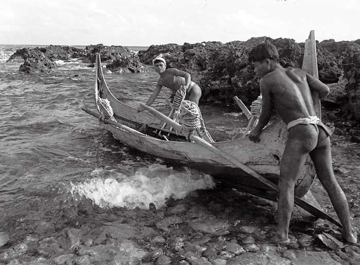 出海,1955蘭嶼