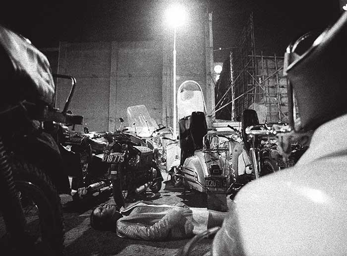第一次個展:午夜—夜未盡,1968