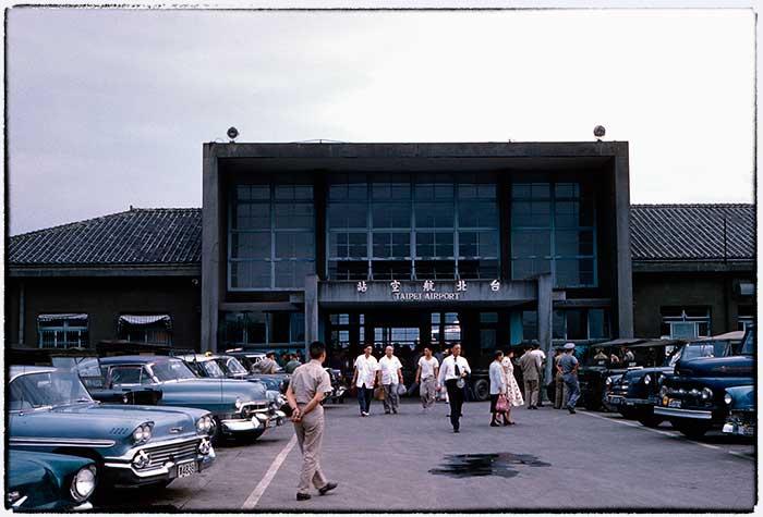 1960,台北松山機場