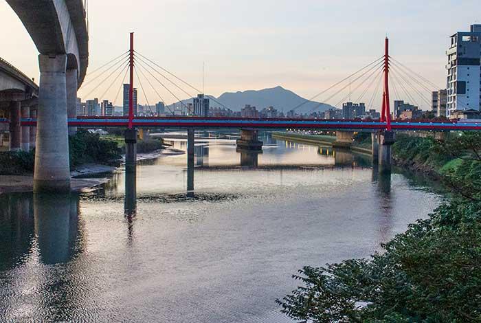 2017,台北,淡水線捷運跨基隆河
