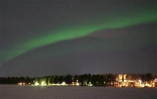 瑞典拉普蘭極圈極光