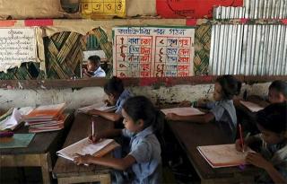 難民營內設學校