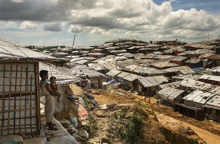 環境惡劣的難民營