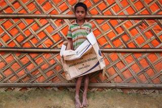 孟國政府對難民的態度矛盾