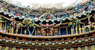 廟簷上的「剪黏」裝飾