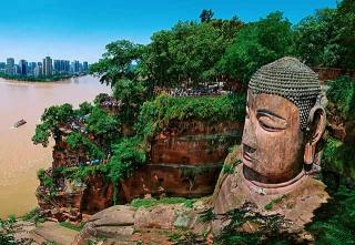 嘉州凌雲寺大彌勒石像