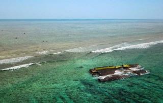 船隻遺跡殘骸