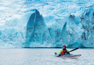 波蒂奇(Portage)冰川